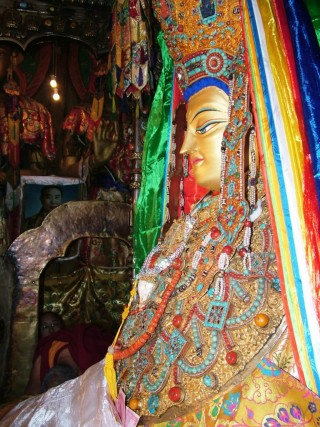 The Jowo Buddha statue is one of the most sacred statues in all of Tibet.
