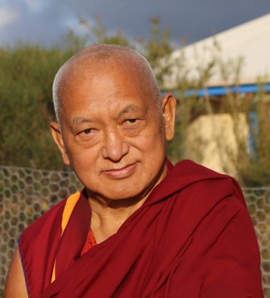 Lama Zopa Rinpoche, De-Tong Ling Retreat Centre, Australia, May 2015. Photo by Ven. Thubten Kunsang.