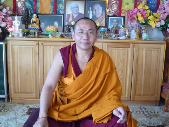 Geshe Lobsang Wangchuk. Photo courtesy of Ani Gyalmo.