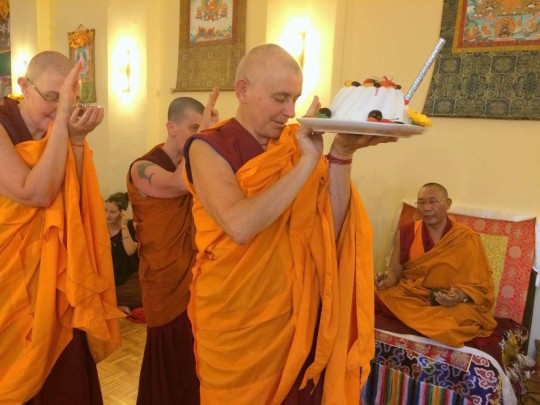 Panchen Losang Chogyen, Vienna, Austria, July 2015. Photo courtesy of PLC on Facebook.