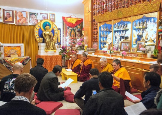Dorje Chang Institute celebrating His Holiness' 80th birthday, New Zealand, July 2015. Photo courtesy of DCI.