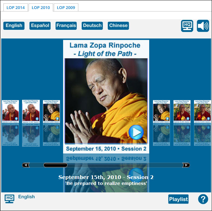 FPMT Online Learning Center Has Reached 20,000 Users