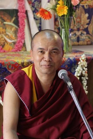 Geshe Dorji Damdul. Photo courtesy of Choe Khor Sum Ling.