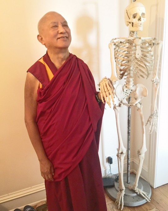Lama Zopa Rinpoche, New York, US, August 2015. Photo by Ven. Roger Kunsang.