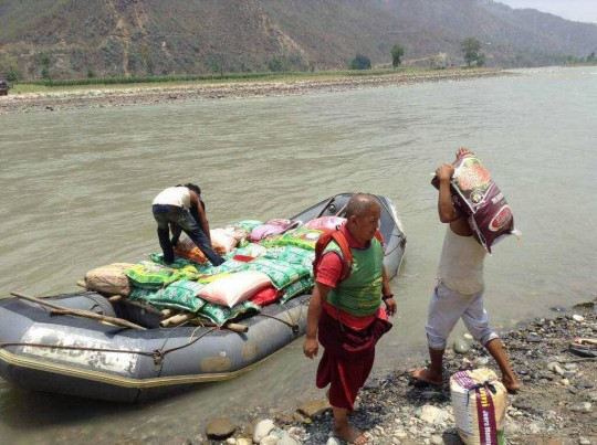 In spite of danger and difficulty, Kopan Helping Hands has continued to offer aid to the eleven most affected districts of Nepal.