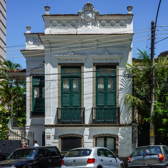 The future home of Centro Shiwa Lha recently bought by the center and currently being renovated, Rio de Janeiro, Brazil, September 2015. Photo by Ven. Roger Kunsang.
