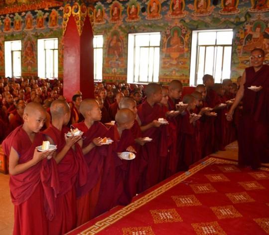 Celebration of Lama Zopa Rinpoche's 70th birthday, Kopan Monastery, December 2015