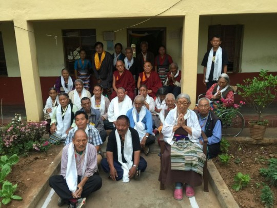 Residence of the elder care home with Lama Zopa Rinpoche.