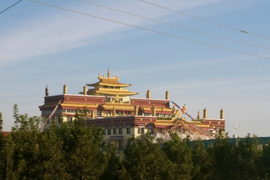 Tashi Lungpo Monastery, Karnataka, India. Photo by Bill Kane.