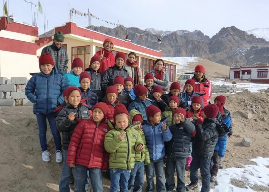 Children who would otherwise miss educational opportunities are offered a modern and traditional Tibetan culture education at Ngari Institute.