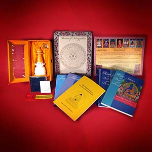 The Liberation Box contains many resources recommended by Lama Zopa Rinpoche to help one's self and others at the time of death.