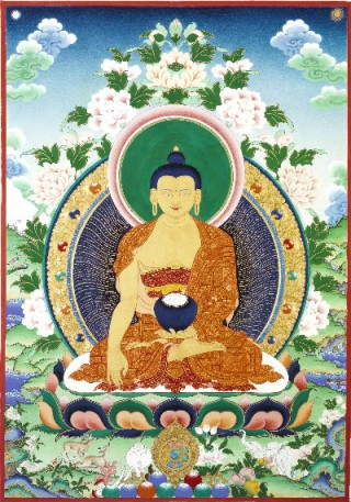 Shakyamuni Buddha by Jane Seidlitz
