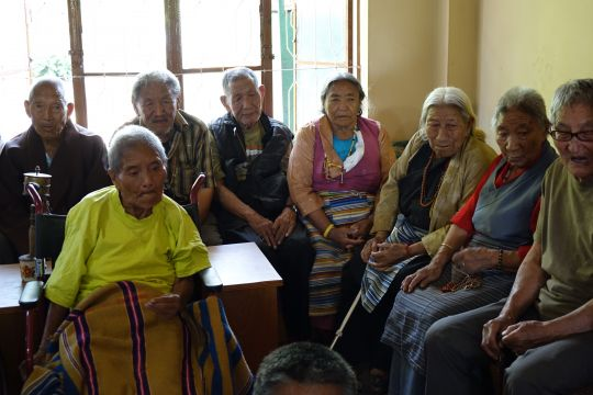 The courage and bravery of Tibetan refugees is unfathomable. As they live their final years, FPMT is committed to provide support for those who are not able to care for themselves or have no families to offer any assistance.