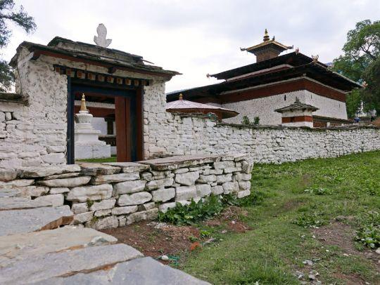 Outside Kyichu Lhakhang, Bhutan, May 2016. Photo by Ven. Roger Kunsang.