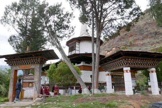 Jangtsa Dumtseg Lhakhang, Bhutan, May 2016. Photo by Ven. Roger Kunsang.