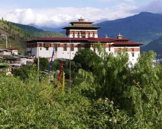 Rinpung Dzong, Bhutan, June 2016