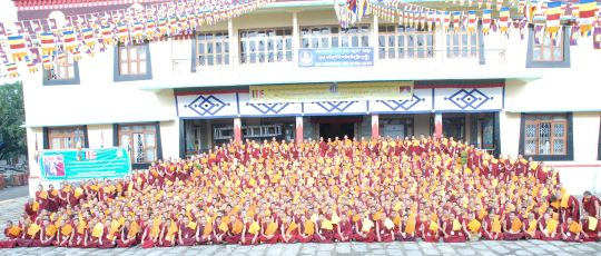 667 monks participated in the debate this year. The topic was Buddhist logic.