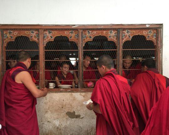 Tashichö Dzong Monastery in Thimphu, Bhutan, June 2016. Photo by Ven. Lobsang Sherab.