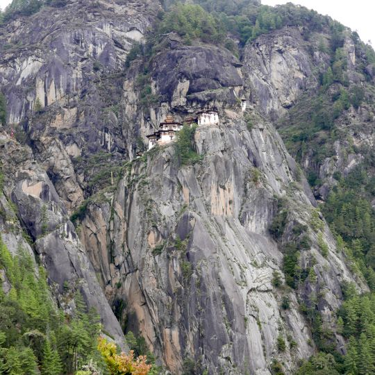 Paro Taktsang (Tiger's Nest), Bhutan, May 2016. Photo by Ven. Roger Kunsang.