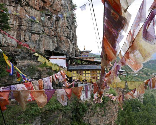 Dzongdrakha, the placeofGuruRinpoche'smind, Paro,Bhutan, June 2016. Photo by Ven. Roger Kunsang.
