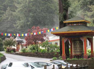 Tara Home at Land of Medicine Buddha, Soquel, CA, USA.