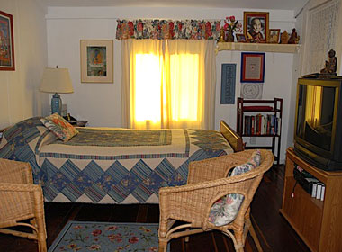 Comfortable accommodation is provided at Tara Home for those in their final months of life.