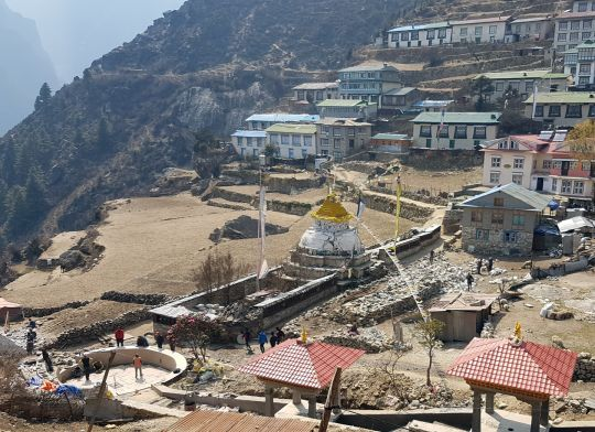 This area will become Mani Chungyur, Stupa and Water Park.