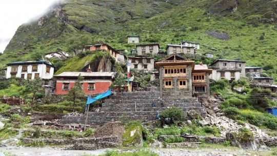 Rolwaling Monastery is the main monastery in Rolwaling, located in Nepal along the Tibetan border, and is a precious site of cultural and religious heritage for the area.