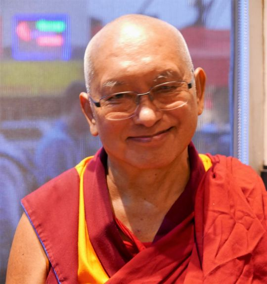 Lama Zopa Rinpoche visiting New York City, US, August 2016