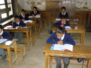 Two years ago, Kopan Monastery took on responsibility for Sagarmatha Secondary School.