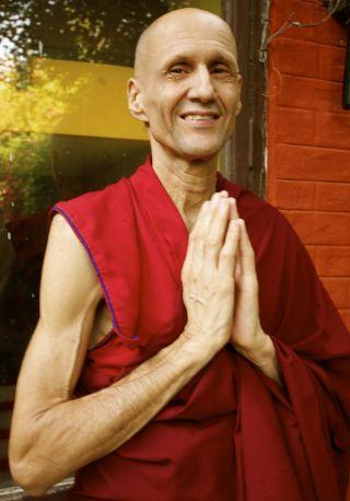 Ven. Kabir Saxena. Photo courtesy of Maitreya Buddha Project Kushinagar.