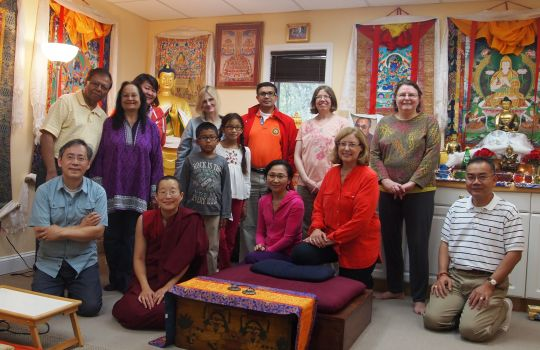 World Vegetarian Day, Guhysamaja Center, Fairfax, Virginia, US, October 2016. Photo courtesy of Guhyasamaja Center.