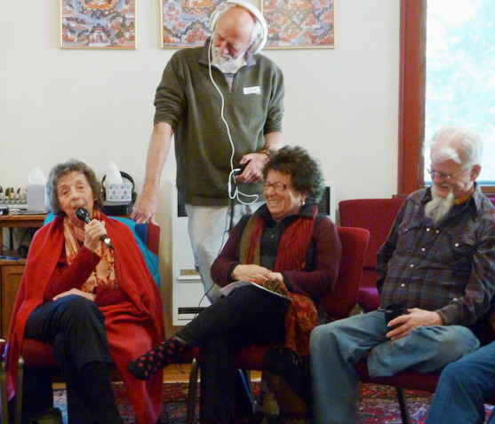 Vajrapani Founders' Retreat Participants Record Early