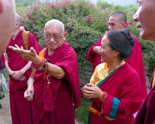 Prayers for Lama Zopa Rinpoche's Good Health This Year