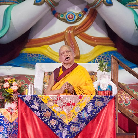 lama zopa at iltk