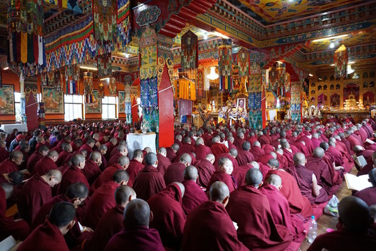 Many Beneficial Activities of the Puja Fund Multiplied 100 Million Times this Lhabab Duchen