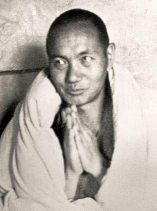 Lama Yeshe at Kopan Monastery, 1971. Photo courtesy of Lama Yeshe Wisdom Archive.