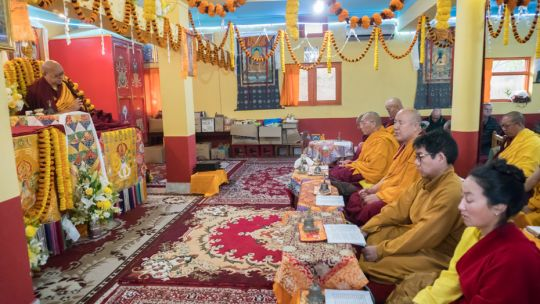 long-life-puja-for-lama-zopa-root-institute-india-201801