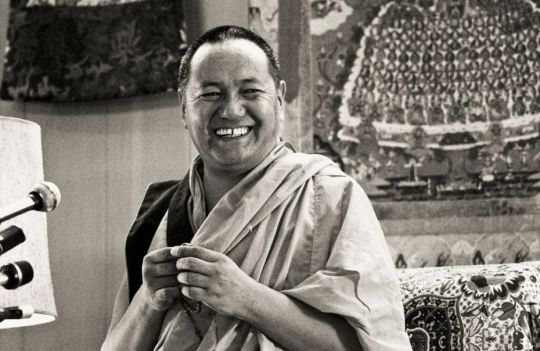 Lama Yeshe, Yucca Valley, California, US, 1977. Photo courtesy of Lama Yeshe Wisdom Archive.