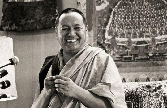 Lama Yeshe, Yucca Valley, California, US, 1977. Photo courtesy of Lama Yeshe Wisdom Archive.