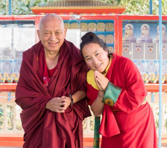 lama-zopa-rinpoche-and-khadro-la