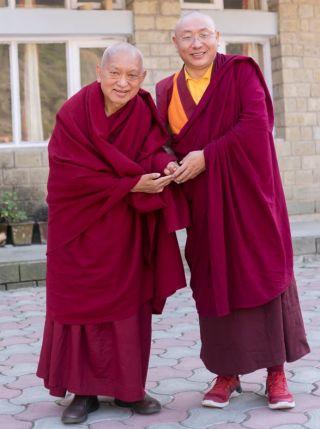 lama-zopa-rinpoche-khenpo-thinle-dorjee-tso-pema-india-201801