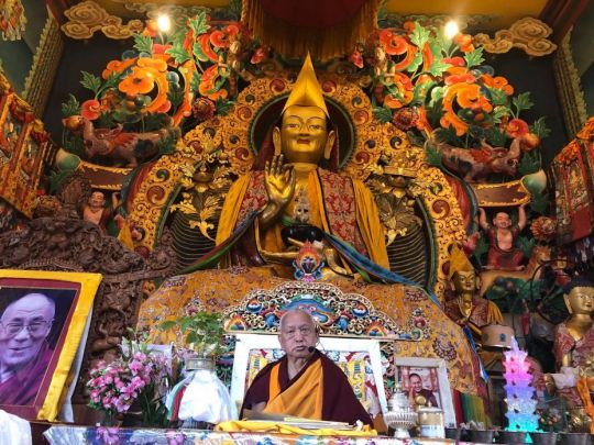 lama zopa rinpoche kopan losar 201802 kopan fb