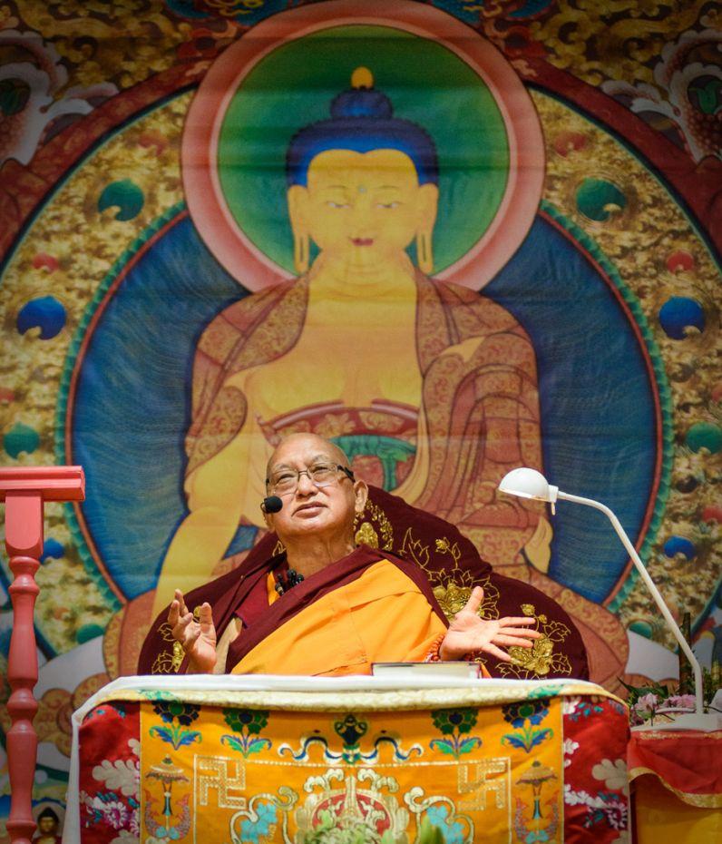 Lama Zopa Rinpoche Recites the Long and Short Namgyalma Mantras