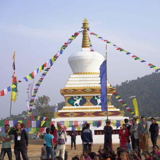 Enlightenment Stupa Nepal 201803