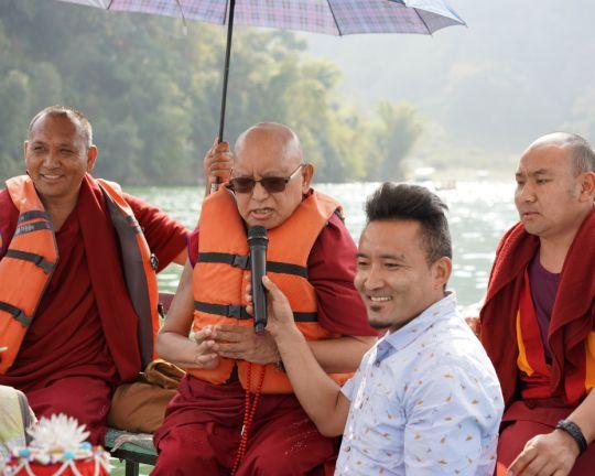 Rinpoche Lake Pokhara 201803