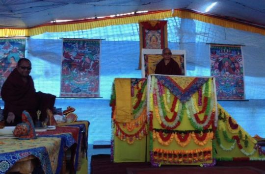 Rinpoche White Tara initiation (1)