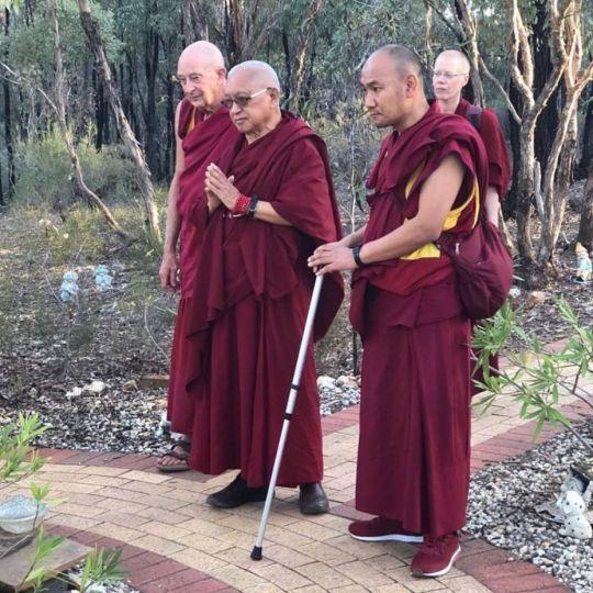 lama zopa rinpoche bendigo 201803