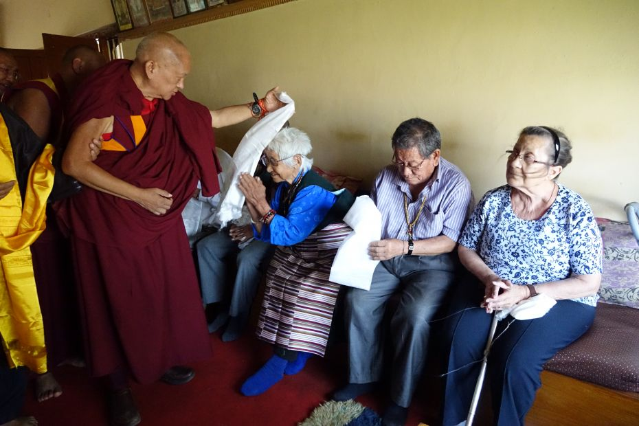 Continued Support for Lugsam Samduling Home for the Aged and Disabled, Bylakuppe, India
