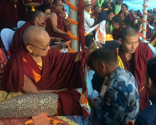lama zopa blessings taplejung nepal 201803